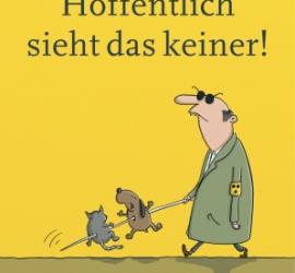 Hoffentlich sieht das keiner - Sammelband zum Deutschen Cartoonpreis 2015