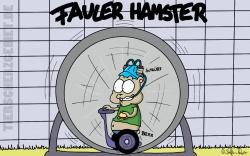Fauler Hamster